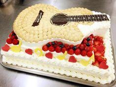 ウエディングケーキ ギター