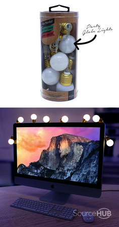LED USB Chain Globe Lights - JB Hifi, Australia. - SourceHub Group