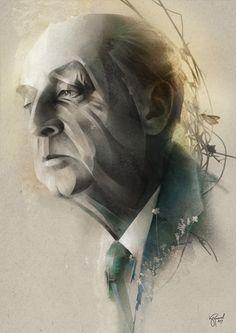 Doctor Ojiplático. Alexey Kurbatov. Лёша Курбатов. Portraits & Magazine Illustrations