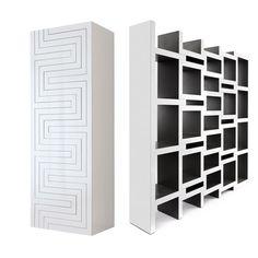 """Le designer Néerlandais Reiner de Jong nous présente son projet de Bibliothèque """"Rek"""". Une création massive qui évolue et se déploie au fil ..."""