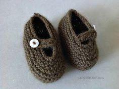 Tutorial: Patucos bebé Mary Jane. Tutorial   Manualidades