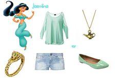 Jasmine Outfit- Aladdin by Stacy P.