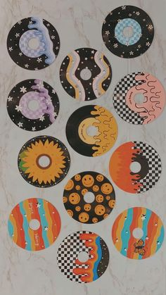Record painting ideas