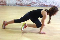 A Waist-Defining Workout for Athletic Body Types. Start with this Plank with Alternating Knee to Elbow Rotation move. #fitness | Health.com