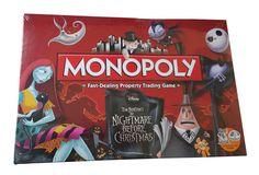 Nightmare before Christmas Brettspiel Monopoly *Englische Version*