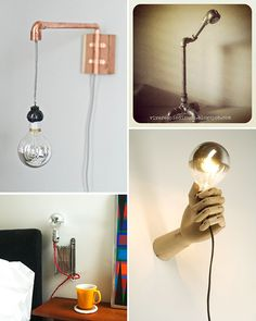 4 easy DIY lamps