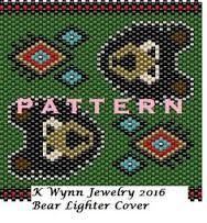 Image result for beaded lighter cover patterns free