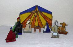 simple nativity scene