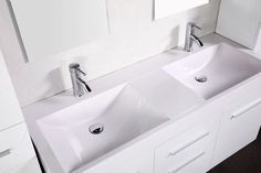 idée salle de bain double évier - Recherche Google