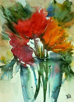 Tito Fornasiero (©2013 titofornasiero.com) Acquerello su carta. Watercolor on paper.