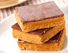 Dulce de Leche and Chocolate Shortbread Bars