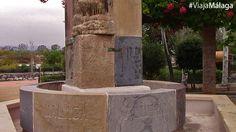 Fuente de Europa, que posee una variedad de piedras traídas desde todos los rincones del contitente que recibe su nombre.