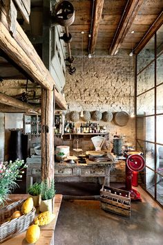 Take a look Fancy Rustic Italian Interior Design Ideas 08 Due to the comfortable and comforting appearance this offers, it's still popular in the houses and m. Rustic Italian Decor, Rustic Decor, Rustic Cafe, Rustic Theme, Earthy Decor, Rustic Backdrop, Rustic Room, Rustic Nursery, Rustic Outdoor