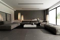 Bielsko-Biala // Sfera // Apartment // 167M2 | Kuoo Architects - Buscar con Google
