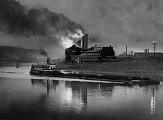 J & L Steel (Aliquippa, PA). My grandfather worked here.