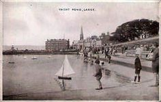1930 The yacht pond Largs, Ayrshire, Scotland Life Is Like, What Is Life About, Arran, Pond, Paris Skyline, Scotland, Tours, Explore, History