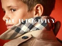 David Beckham's 10-year-old son has been unveiled as the new star of Burberry's latest advertising campaign.
