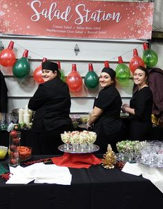 Our catering staff is ready to make your event a success! Here they are keeping the Pasta Bar fresh! Pasta Bar, Party Trays, Catering Menu, Orzo, Event Planning, Buffet, Success, Make It Yourself, Fresh