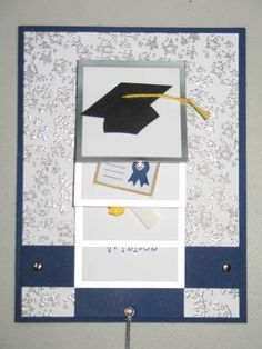 waterfall graduation card by everythingpink94 - Cards and Paper Crafts at Splitcoaststampers