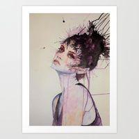 Art Print featuring Intruige by Daniel Plaskett