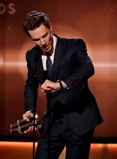 Congratulations Ben!!!!! Benedict wins The Best Actor Award at The 18th Annual Hollywood Film Awards - 14th November 2014