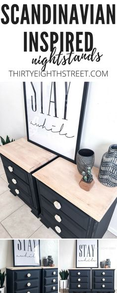 LOTS of FABULOUS furniture makeovers & tutorials!