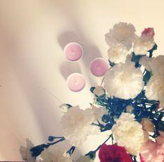 Flowers & candels