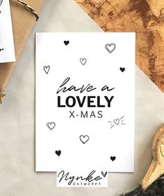 Have a lovely x-mas | Kerstkaart made by NynkeOntwerpt