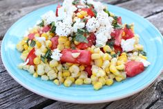 Summer Corn and Tomato Salad from theadventuresofnutrigirl.wordpress.com