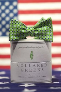 Collared Greens packaging