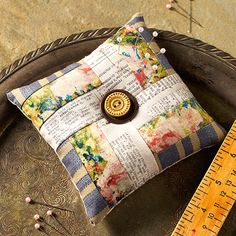 Eclectic Elements Rail Fence Pin Cushion