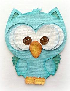 BABY BLUE OWL ANIMAL | Mytearbears