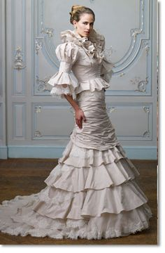 ian stuart red wedding dress - Google Search