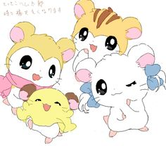 [drawr] ベルちぁん - 2010-07-21 20:40:55 Hamtaro, Japanese Cartoon, Cute Japanese, Cute Animal Drawings, Cute Drawings, Hamster Live, Hamster Cartoon, Manga Mania, Kawaii Wallpaper