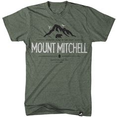 Large photo of Mount Mitchell