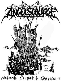 Shirt design for the Finnish BM band Angelscourge
