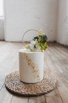 Small Wedding Cakes, Elegant Wedding Cakes, Wedding Cakes With Flowers, Wedding Desserts, Cake For Wedding, Cake Topper Wedding, 1 Tier Wedding Cakes, Wedding Cake Centerpieces, Floral Wedding Cakes