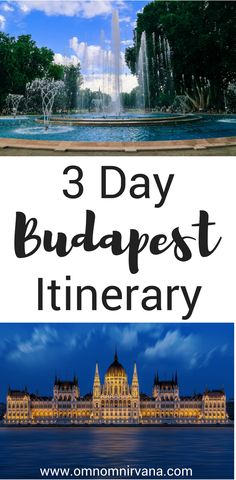 Budapest, Hungary is a beautiful city with so much to see and do. We will tell you where to stay in Budapest, what to see in Budapest, transportation in Budapest, walking tours in Budapest, and much more. This 3 day Budapest itinerary will help you plan your trip so make sure you save it to your travel board.