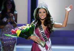 Miss Rhode Island Olivia Culpo  crowned Miss USA during the 2012 Miss USA pageant