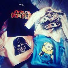 Star wars y Minions. #camisetasmolonas #minions #tshirt #starwars #starwarseverywhere