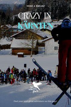 Wintersport in Kärnten: Eislaufen, Skifahren und Rodeln sind dir zu langweilig?  Du liebst das Abenteuer und bist für jeden Spaß zu haben? Dann wirst du unsere verrückten Veranstaltungsempfehlungen lieben! #kärnten #wintersport #wintersportinkärnten #skispringen #fassdaubenrennen #zipfelbob #urlaubinkärnten #urlaubinösterreich #ausflügeinkärnten #ausflügeinösterreich #freizeitspaß #ausflügemitkindern #highlightsinkärnten Need A Break, Greatest Adventure, Times Square, Travel, Ice Skating, Ski, Adventure, Voyage, Viajes