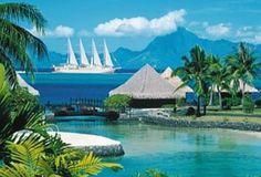 Tahiti Cruise with Windstar #luxuryyachtcruises