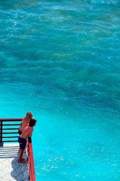 -BLUE, OCEAN, OCÉANO AZUL TURQUESA