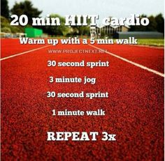 HIIT  hit the track and bleacher day