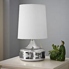 Perch Table Lamp - Mercury #westelm