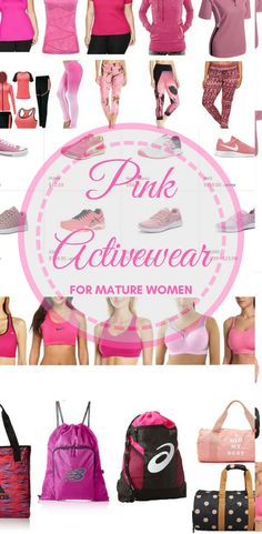 25 PINK Activewear Choices for Mature Women  http://amzn.to/2Cmw2yf AD #FashionforMatureWomen #MatureWomen #Womenover45 #Womenover50 #Womenover55 #Womenover60 #Womenover65 #fashionover45 #Fashionover50 #Fashionover55 #Fashionover60 via @stillblondeaaty via @stillblondeaaty