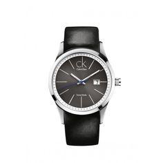 Calvin Klein Gents Big Date Stainless Steel Quartz Watch Montre Calvin Klein 0a1c51f17c146