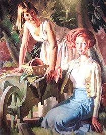 Mollie and Stella, Bernard Fleetwood-Walker