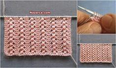 Inglese 3 Video 3 Reverse 3 Knit Weave Model è educato e utilizzato in vari … Baby Knitting Patterns, Knitting Stitches, Stitch Patterns, Crochet Baby, Knit Crochet, Knitting Videos, Knitted Hats, Diy And Crafts, Molde