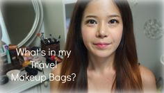 What's in my travel makeup bags? 여행 메이크업 파우치/가방 공개